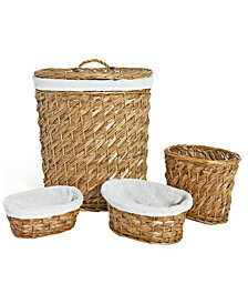 Lamont Home Hudson Hamper Set