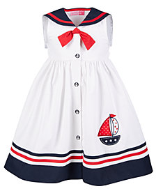 Good Lad Toddler Girls Sailor Dress