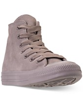840491be63c1 Converse Unisex Chuck Taylor All Star Suede Mono Color High Top Casual  Sneakers from Finish Line