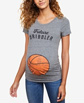b75a55801 Motherhood Maternity Future Dribbler™ Maternity Graphic Tee