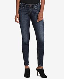 Silver Jeans Co. Suki Curvy-Fit Studded Skinny Jeans