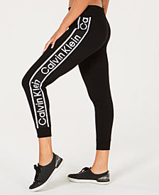 Calvin Klein Performance High-Waist Ankle Joggers