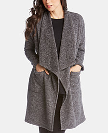 Karen Kane Fleece Duster Cardigan