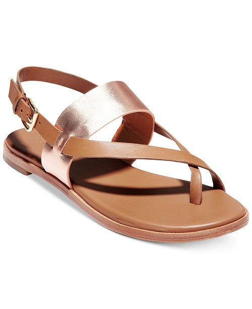 d488ce91f6be3a Cole Haan Anica Thong Flat Sandals   Reviews - Sandals   Flip Flops ...