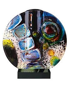 """8"""" x 8.5"""" Summer Wave Circle Bud Vase"""