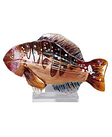 "18"" x 12"" Fish Acrylic Stand"