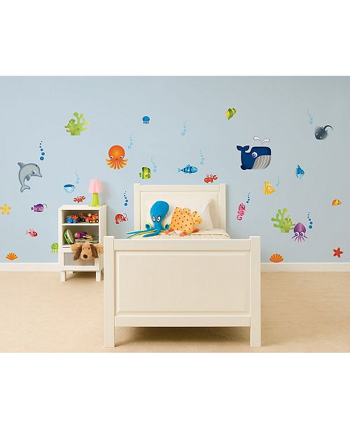 Brewster Home Fashions Under The Sea Stikarounds