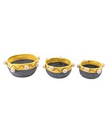 Lagos Baskets, Set of 3