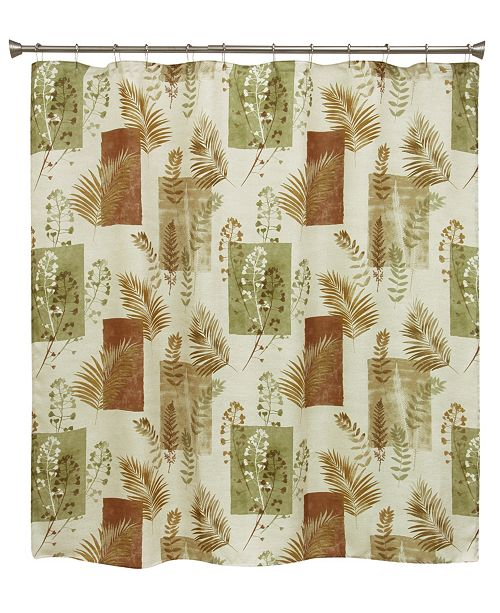 Bacova Taylor Spice Shower Curtain