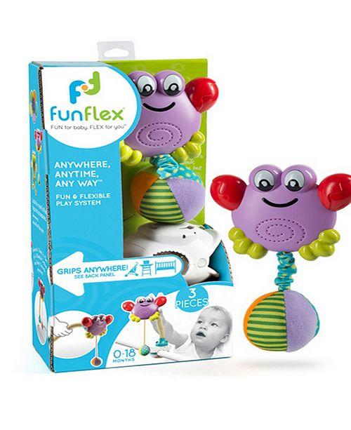 Fun Flex Best Award Winning 3 In 1 Infant Baby Dancing Crab Activity