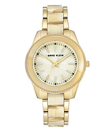 Anne Klein Mother of Pearl Dial Watch
