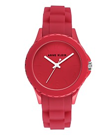Anne Klein Matte Dial with Arabic Numerals Watch