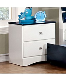 Transitional Style Night Stand
