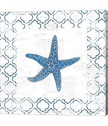 Navy Starfish o by Emily Adams
