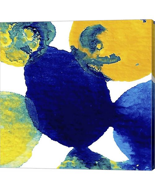 Metaverse Yellow and Blue by Amy Vangsgard