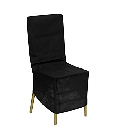 Clickhere2shop Fabric Chiavari Chair Storage Cover