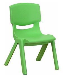 Offex Pre School Plastic Stackable School Chair