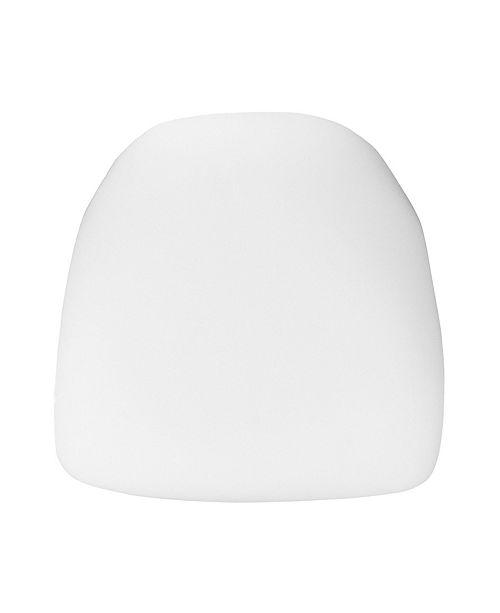 Clickhere2shop Hard Fabric Chiavari Chair Cushion
