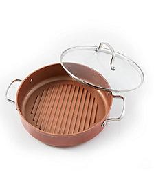 NuWave 3-Qt Duralon Non-Stick Grill Pan