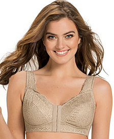 Fabulous Lace Wireless Minimizer Bra 011848
