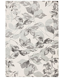 "Surya Aberdine ABE-8001 Medium Gray 7'10"" x 10'6"" Area Rug"