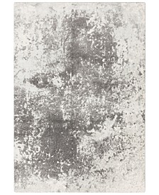 "Aberdine ABE-8013 Medium Gray 9'3"" x 12'3"" Area Rug"