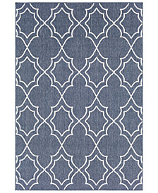 "Surya Alfresco ALF-9650 Charcoal 3' x 5'6"" Area Rug"