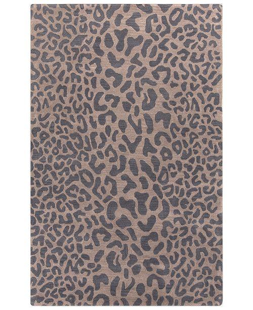 Surya Athena ATH-5114 Charcoal 4' x 6' Area Rug