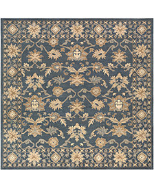 Surya Caesar CAE-1180 Dark Green 8' Square Area Rug