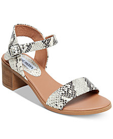 Steve Madden April Block-Heel City Sandals