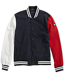 Tommy Hilfiger Adaptive Men's Fieldcrest Jacket with Magnetic Snaps