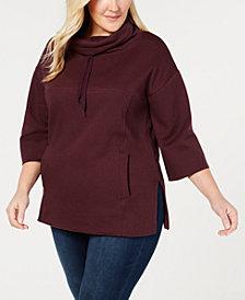 UGG® Plus Size Astrid Poncho Pajama Top