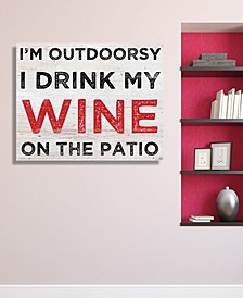 """I'M Outdoorsy, 