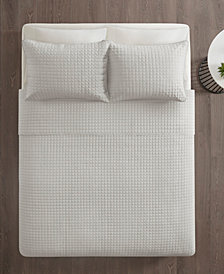 510 Design Lucca King/California King 3-Piece Embossed Coverlet Set