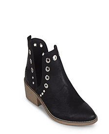 Wanted Rivet Western Split Shaft Bootie