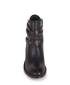 Whipper Western Strapped Bootie