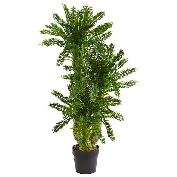 Nearly Natural Triple Potted Cycas Artificial Plant