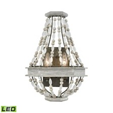 Summerton 2 Wall Sconce Washed Gray/Malted Rust