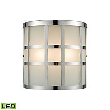 Hooper 2 Outdoor Sconce Polished Stainless