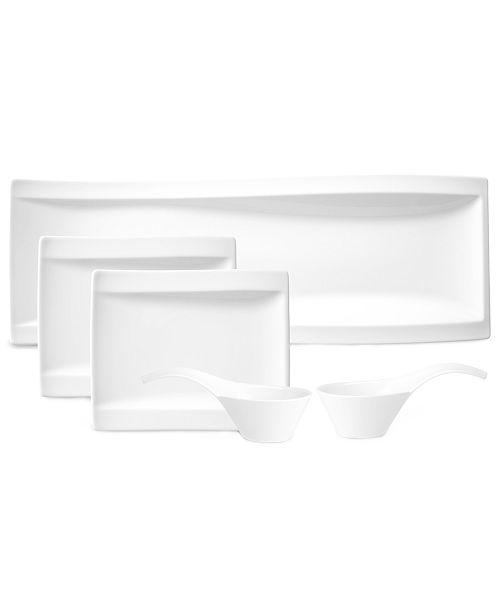 Villeroy & Boch Dinnerware, New Wave 5 Piece Antipasti Set