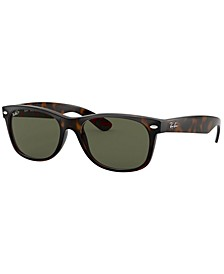 Polarized Sunglasses, RB2132 NEW WAYFARER
