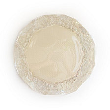 Jay Import Roberta Iris Luster Pearl Charger Plate