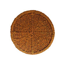 Jay Import Bamboo/Rattan  Charger  Plate
