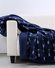Blanket & Home Co.® Cozy Arrow Print Throw