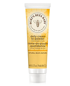 Receive a Free sample of Baby Diaper Cream with any $40 Select Baby purchase