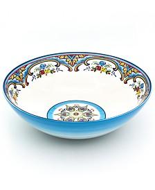 Euro Ceramica Zanzibar Serving Bowl