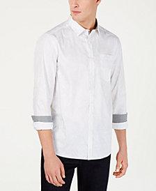 Kenneth Cole New York Men's Confetti Print Shirt