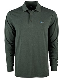 Men's Long-Sleeve Polo, Created for Macy's