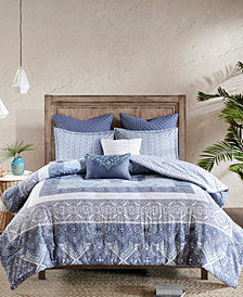 Urban Habitat Maggie Cotton Reversible 7-Pc. Duvet Cover Sets