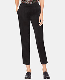 Vince Camuto Slim Leg Front Pleated Pants